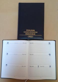 POSLOVNI SUDSKO-ADVOKATSKI ROKOVNIK za 2022. godinu
